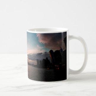 New York City Skyline at Sunset Coffee Mug