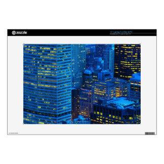 """New York City Skyline at Sunset Decals For 15"""" Laptops"""