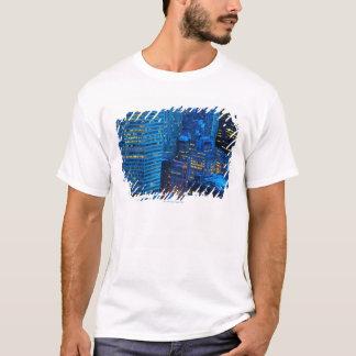 New York City Skyline at Sunset T-Shirt