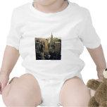 New York City Skyline Baby Bodysuit