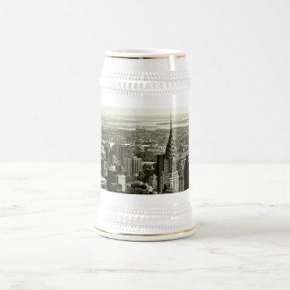 New York City Skyline Beer Stein