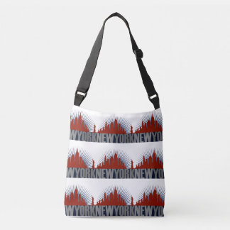New York City Skyline Crossbody Bag