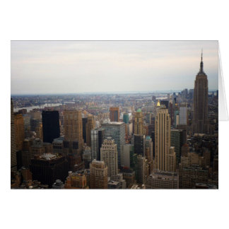 New York City Skyline, Day View Card