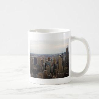 New York City Skyline, Day View Coffee Mug