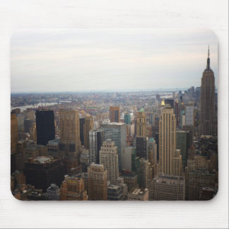 New York City Skyline, Day View Mouse Pad
