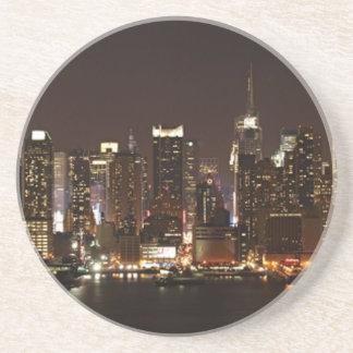 New York City Skyline Drink Coaster