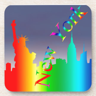 New York City skyline Drink Coasters