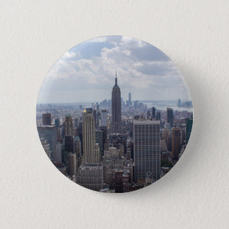 New York City Skyline Empire State Building NYC Button