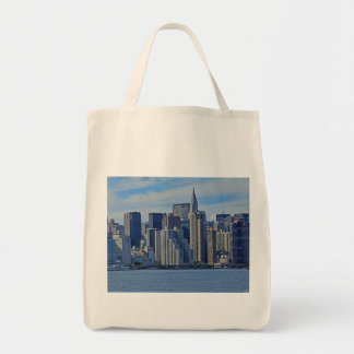 New York City Skyline From the East River A1 Tote Bag