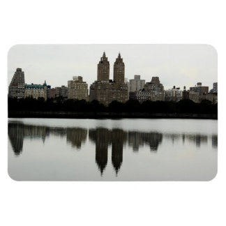 New York City Skyline in Central Park Magnet