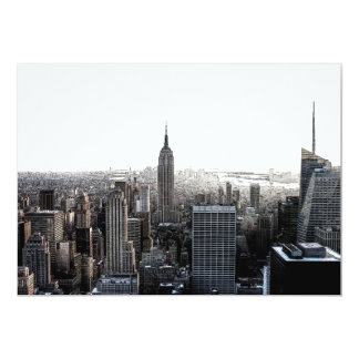 New York City Skyline Invitation