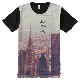 New York city skyline All-Over Print T-shirt
