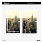 New York City Skyline Kindle Fire Decal