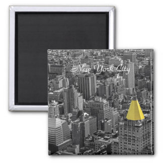 New York City Skyline Landscape Magnet
