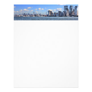 New York City Skyline Letterhead