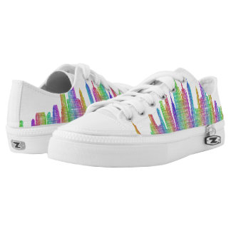 New York City skyline Low-Top Sneakers