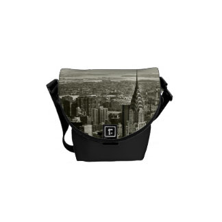 New York City Skyline Messenger Bags