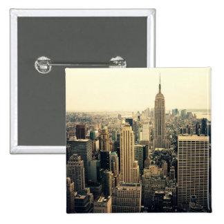 New York City Skyline Midtown Pins