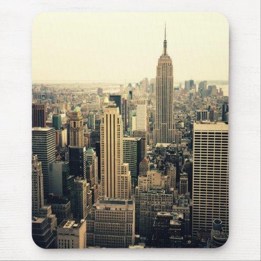 New York City Skyline Midtown Mouse Pad