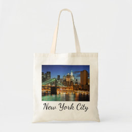 New York City Skyline, New York, USA Tote Bag