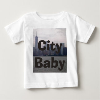 New York City Skyline NYC City Baby CricketDiane Infant T-shirt
