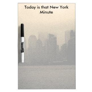 New York City Skyline NYC Gifts CricketDiane Dry Erase Board