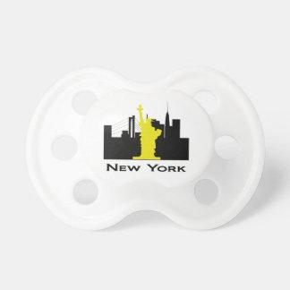 New York City Skyline Pacifier