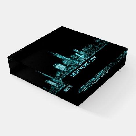 New York City Skyline Paperweight
