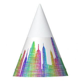 New York City skyline Party Hat
