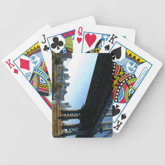 New York City Skyline Bicycle Playing Cards