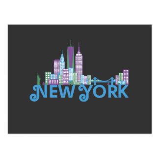 New York City Skyline Post Cards