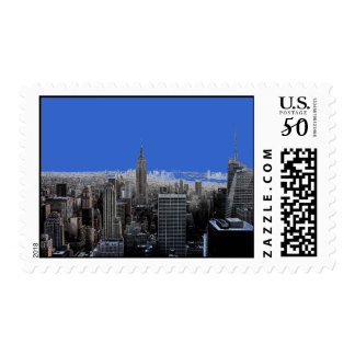 New York City Skyline Postage