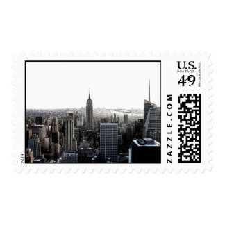 New York City Skyline Postage