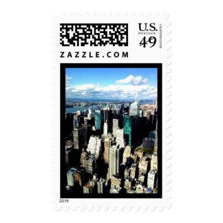 New York City Skyline Postage Stamps