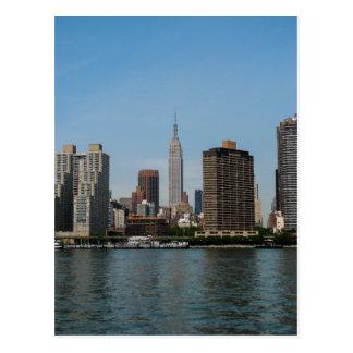 New York City Skyline - Postcard