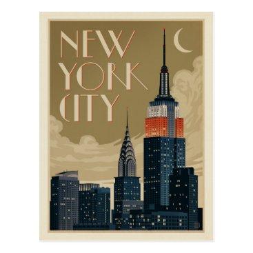 AndersonDesignGroup New York City Skyline Postcard