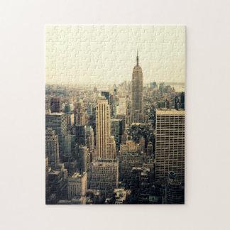 New York City Skyline Puzzle -  Classic