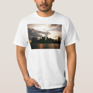 New York City Skyline Silhouette T-Shirt