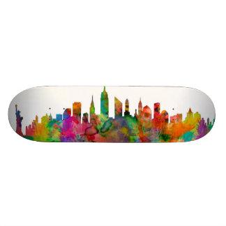 New York City Skyline Skateboard Deck