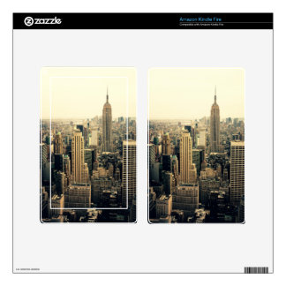 New York City Skyline Skins For Kindle Fire