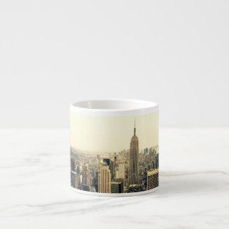 New York City Skyline Espresso Mug