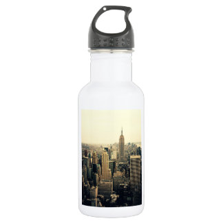 New York City Skyline Stainless Steel Water Bottle