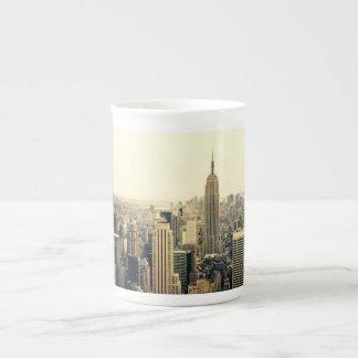 New York City Skyline Tea Cup