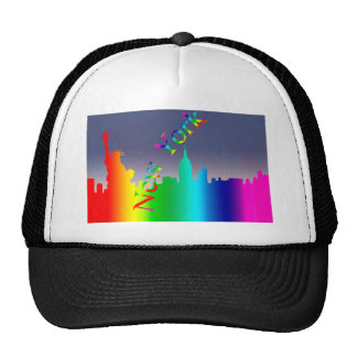 New York City skyline Trucker Hat
