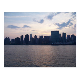 New York City Skyline/United Nations Postcard