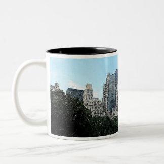 New York City Skyline Watercolor Coffee Mug