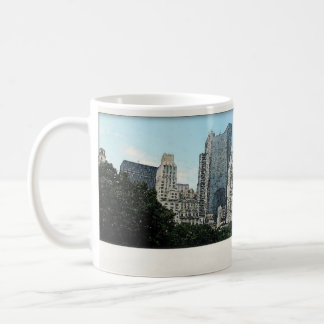 New York City Skyline Watercolor Mug