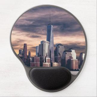 New York City Skyline Winter Gel Mouse Pad