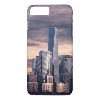 New York City Skyline Winter iPhone 8 Plus/7 Plus Case