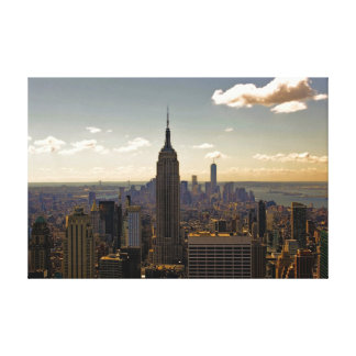 New York City Skyline with Empire State Building Canvas Print